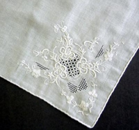 #White Embroidery and Drawn Work#
